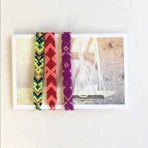 Jewelry - Bundle of Friendship handmade bracelets